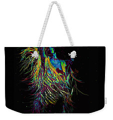 Roger Daltry At Woodstock Weekender Tote Bag by Jane Schnetlage