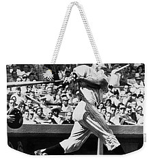 Roger Maris Hits 52nd Home Run Weekender Tote Bag
