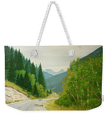 Rogers Pass Bc Weekender Tote Bag