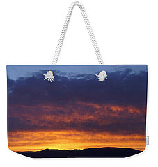 Rogue Valley Sunset Panoramic Weekender Tote Bag