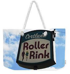 Roller Rink Weekender Tote Bag