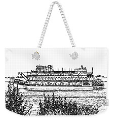 Rollin Down The River Weekender Tote Bag