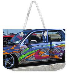 Rolling Art Lowrider Weekender Tote Bag
