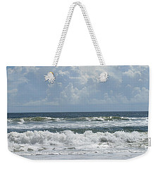 Rolling Clouds And Waves Weekender Tote Bag
