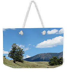 Weekender Tote Bag featuring the photograph Rolling Hills by Laurel Powell