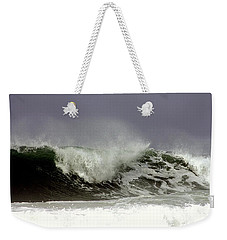 Weekender Tote Bag featuring the photograph Rolling In The Deep by Debra Forand