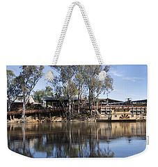 Rolling On The River Weekender Tote Bag