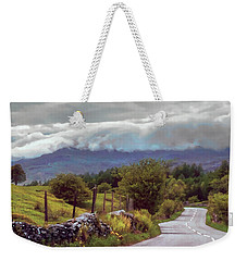 Rolling Storm Clouds Down Cumbrian Hills Weekender Tote Bag