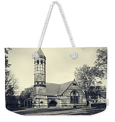 Rollins Chapel Dartmouth College Hanover New Hampshire Weekender Tote Bag by Edward Fielding