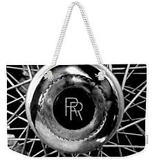 Rolls Royce - Black And White Weekender Tote Bag
