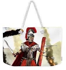 Roman Centurion Weekender Tote Bag