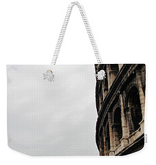 Weekender Tote Bag featuring the photograph Roman Coliseum by Tiffany Erdman