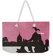 Roman Holiday Weekender Tote Bag by Ayse Deniz