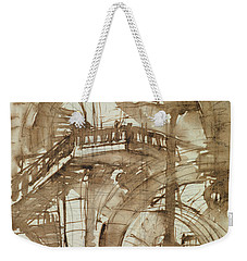 Roman Prison Weekender Tote Bag by Giovanni Battista Piranesi