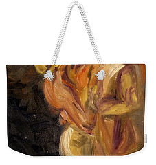 Romance Weekender Tote Bag by Donna Tuten