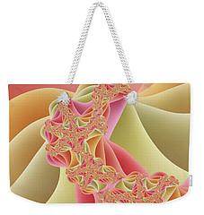 Weekender Tote Bag featuring the digital art Romance by Gabiw Art