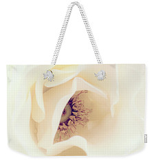 Romance In A Rose Weekender Tote Bag by Spikey Mouse Photography