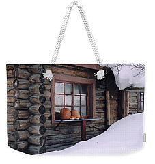 October Snow Weekender Tote Bag