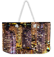 Weekender Tote Bag featuring the photograph Romance In Yaletown Mcdxxxi by Amyn Nasser