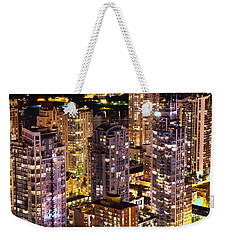 Romantic Yaletown Vancouver Canada Mcdxxxi Weekender Tote Bag