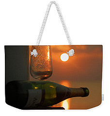 Weekender Tote Bag featuring the photograph Romance by Leticia Latocki
