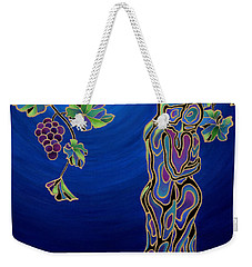Romance On The Vine Weekender Tote Bag