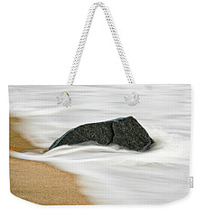 Surf Caresses A Lonely Stone Weekender Tote Bag