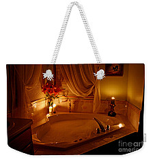 Romantic Bubble Bath Weekender Tote Bag