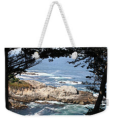 Romantic California Coast Weekender Tote Bag