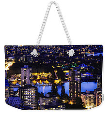 Romantic Kits Beach - Mdxxxviii Weekender Tote Bag by Amyn Nasser