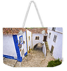 Romantic Obidos Weekender Tote Bag