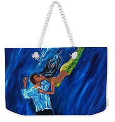 Romantic Rescue Weekender Tote Bag