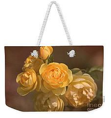 Romantic Roses Weekender Tote Bag