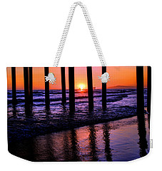 Romantic Stroll Weekender Tote Bag by Tammy Espino
