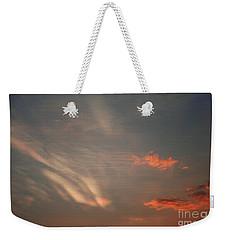 Romantic Sky Weekender Tote Bag