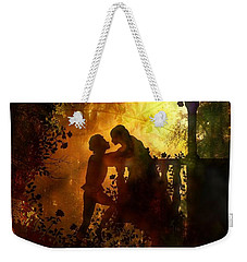 Romeo And Juliet - The Love Story Weekender Tote Bag by Lilia D