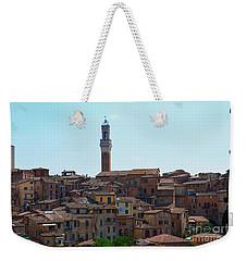 Roofs Of Siena Weekender Tote Bag