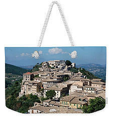 Rooftops Of The Italian City Weekender Tote Bag