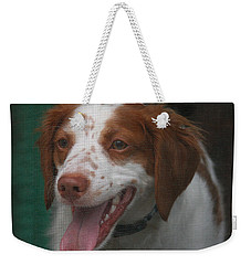 Rooney At The Back Door Weekender Tote Bag
