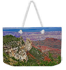 Roosevelt Point Two On North Rim/grand Canyon National Park-arizona   Weekender Tote Bag by Ruth Hager