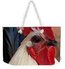 Rooster Face Weekender Tote Bag
