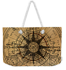 Weekender Tote Bag featuring the painting Root Patent I by James Christopher Hill