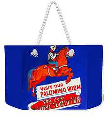 Rootin Tootin Fun Weekender Tote Bag by Beth Saffer