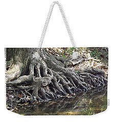 Roots With Verse Psalm 1 3 Weekender Tote Bag