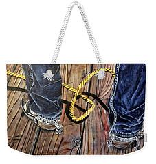 Roping Boots Weekender Tote Bag