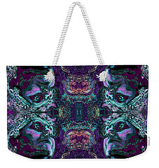 Rorschach Me Weekender Tote Bag by Carol Jacobs
