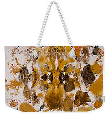 Weekender Tote Bag featuring the painting Rorschach Test 2 by Darice Machel McGuire