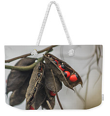 Rosary Pea Weekender Tote Bag