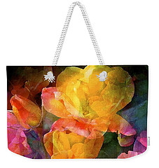 Rose 224 Weekender Tote Bag by Pamela Cooper