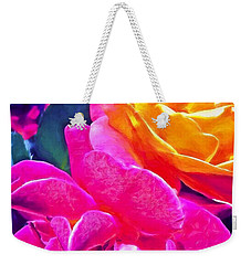 Rose 49 Weekender Tote Bag by Pamela Cooper